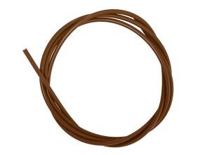 Kabelhülle Ø 5 mm braun (per Meter) Teflon-Innenhülle