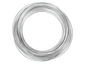 Kabelhülle Ø 5 mm Chrom (25 Meter Rolle) Teflon-Innenhülle