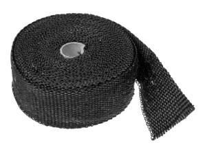 Hitzeschutzband Krümmer schwarz (per Meter)