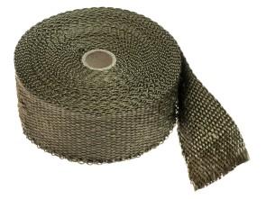 Hitzeschutzband Krümmer braun (per Meter)