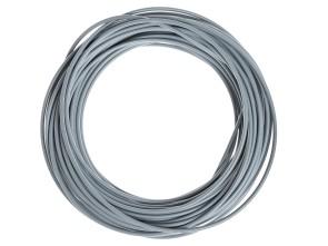Kabelhülle Ø 5 mm grau (25 Meter Rolle) Metall-Innenhülle