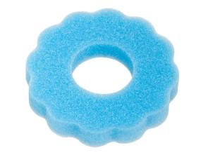 Zierschwamm gewellt Tankdeckel blau