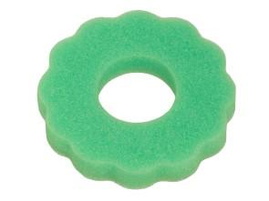 Zierschwamm gewellt Tankdeckel grün