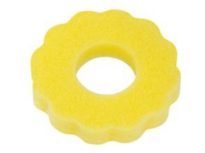 Zierschwamm gewellt Tankdeckel gelb
