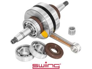 swiing Kurbelwelle High End +1 mm Hub Puch Maxi E50 (C3/4 Lager & Viton Simmerringe)