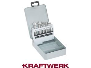Kraftwerk Set Kegelsenker 6-teilig HSS (6.3 - 20.5 mm)