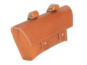Gepäcktasche Echtleder hellbraun klein