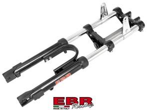 EBR Puch Teleskopgabel hydraulisch schwarz EXTRA