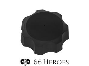 Tankdeckel M44 Puch Alu schwarz