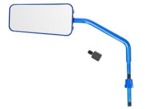 Spiegel STR8 F1-Style blau universal
