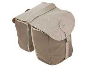 Gepäcktasche Textil Oldschool grau