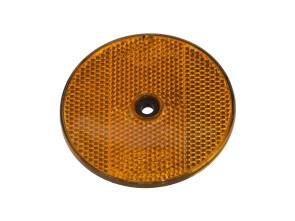 Reflektor ULO orange rund Ø 80 mm