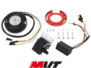 MVT Innenrotor-Zündung Puch / Sachs inkl. Drehzahlbegrenzer & Licht (12V)