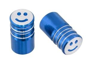 Ventilkappen Barrel blau