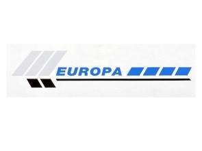"""Aufkleber """"EUROPA"""" Piaggio Si (128x38 mm)"""