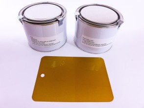 Farbset goldbronce Puch X30 NL & Velux