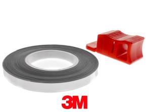 Felgenband 5 mm chrom 6 m  (3M)