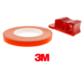 Felgenband 5 mm neonorange leuchtend 6 m