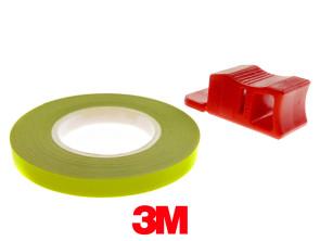 Felgenband 5 mm neongelb leuchtend 6 m