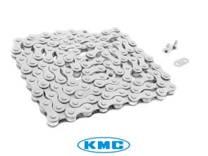 KMC Tretkette weiss universal