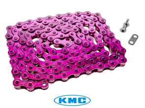 KMC Tretkette violett universal