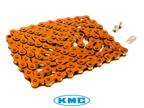 KMC Tretkette orange universal