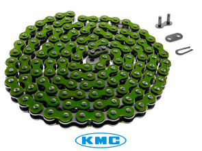 Antriebskette grün KMC 415H (verstärkt) 128L
