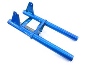 Untere Gabelbrücke Puch X30 / Maxi blau NOS