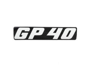 """Kleber """"GP 40"""" Pony KTM GP40"""