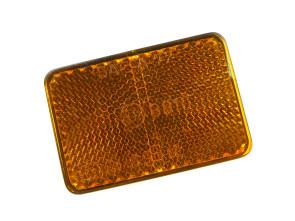 Reflektor orange Gabel & Gepäckträger Puch