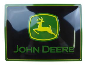 John Deere Blechschild