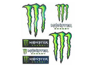 "Werbekleber ""Monster Energy"" gross"