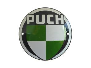 Puch Schild Emaille Ø10 cm