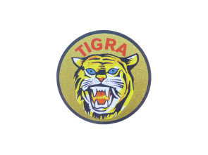 Tigra Wappen Ø 45 mm (Pionier)