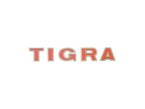 """Tigra"" Aufkleber Oldie (62x10 mm)"