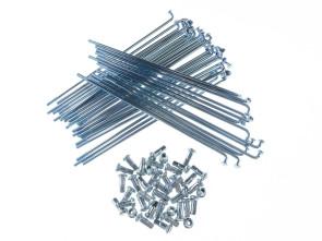 """14"""" Speichenset Universal Stahl verzinkt 145mm"""