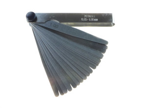 Blattlehre Set 0.05 - 1.00 mm (20-teilig) universal