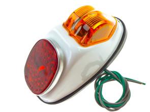 Rücklicht Hella mit Bremslicht weiss (gross)