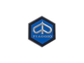 """Piaggio"" Emblem Ø 30 mm Aluminium"