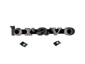 """bravo"" Emblem Aluminium 3D"