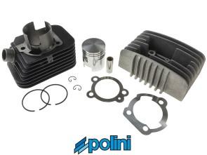 Polini Racing Ø43 mm Rennsatz inkl. Kopf, Piaggio Si (axe 10mm)