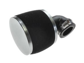 90° Rennluftfilter Schaumstoff Ø 27/34 mm