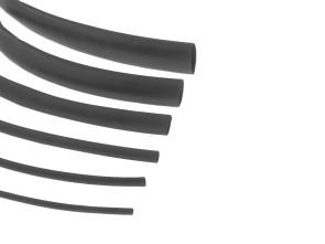 Schrumpfschlauch div. Grössen schwarz 10 cm