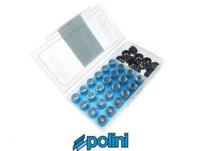Set Variogewichte Polini Ø 16x13 mm / 2.5 - 4 gr.