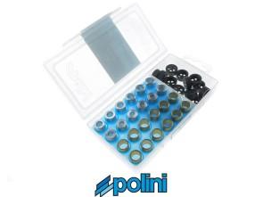 Set Variogewichte Polini Ø 16x13 mm / 3.5 - 5 gr.