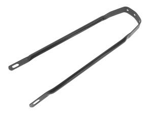 Schutzblechstrebe schwarz 31 cm universal