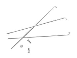 "17"" Speiche einzeln silber inkl. Nippel (2.9 x 188 mm)"