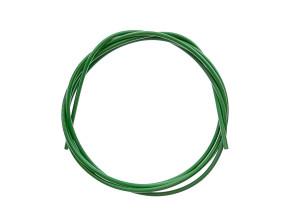 Kabelhülle grasgrün (per Meter)