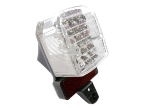 Rücklicht mit Reflektor weiss LED Tomos A3/A35