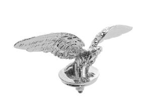 Zierfigur Adler Typ 1 Chrom